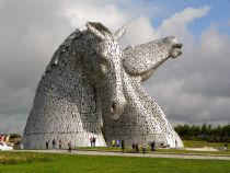 Kelpies at Falkirk