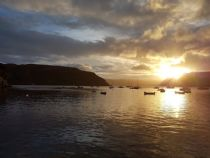 Sunrise from Portree