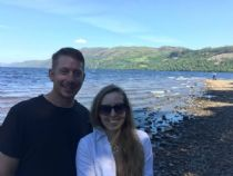 Honeymoon at Loch Ness