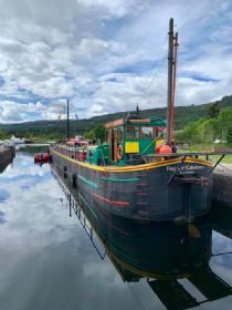 Boat at Fort Augustus
