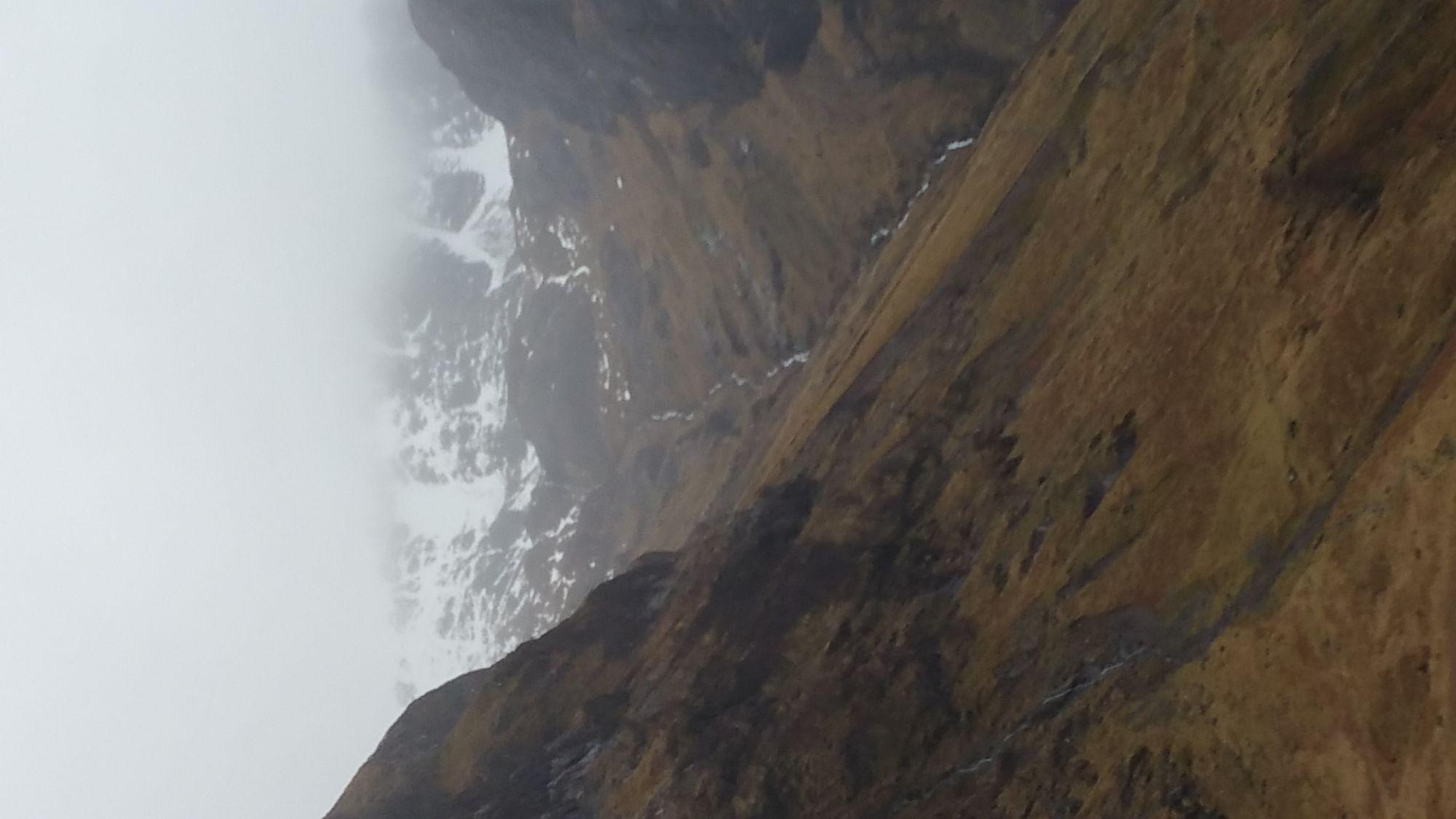 mountains un the fog.....