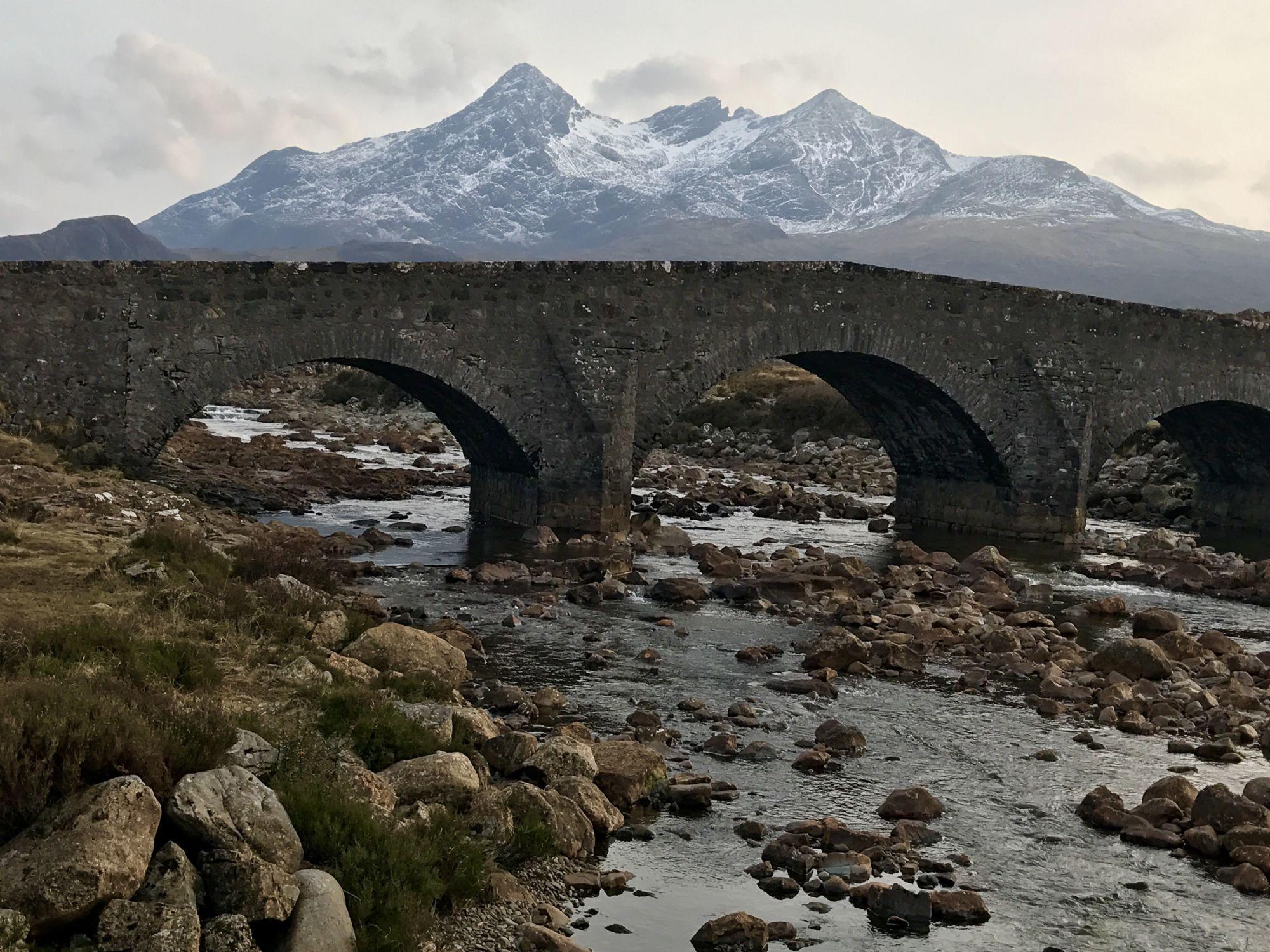 Black Cuillin  the Old Bridge