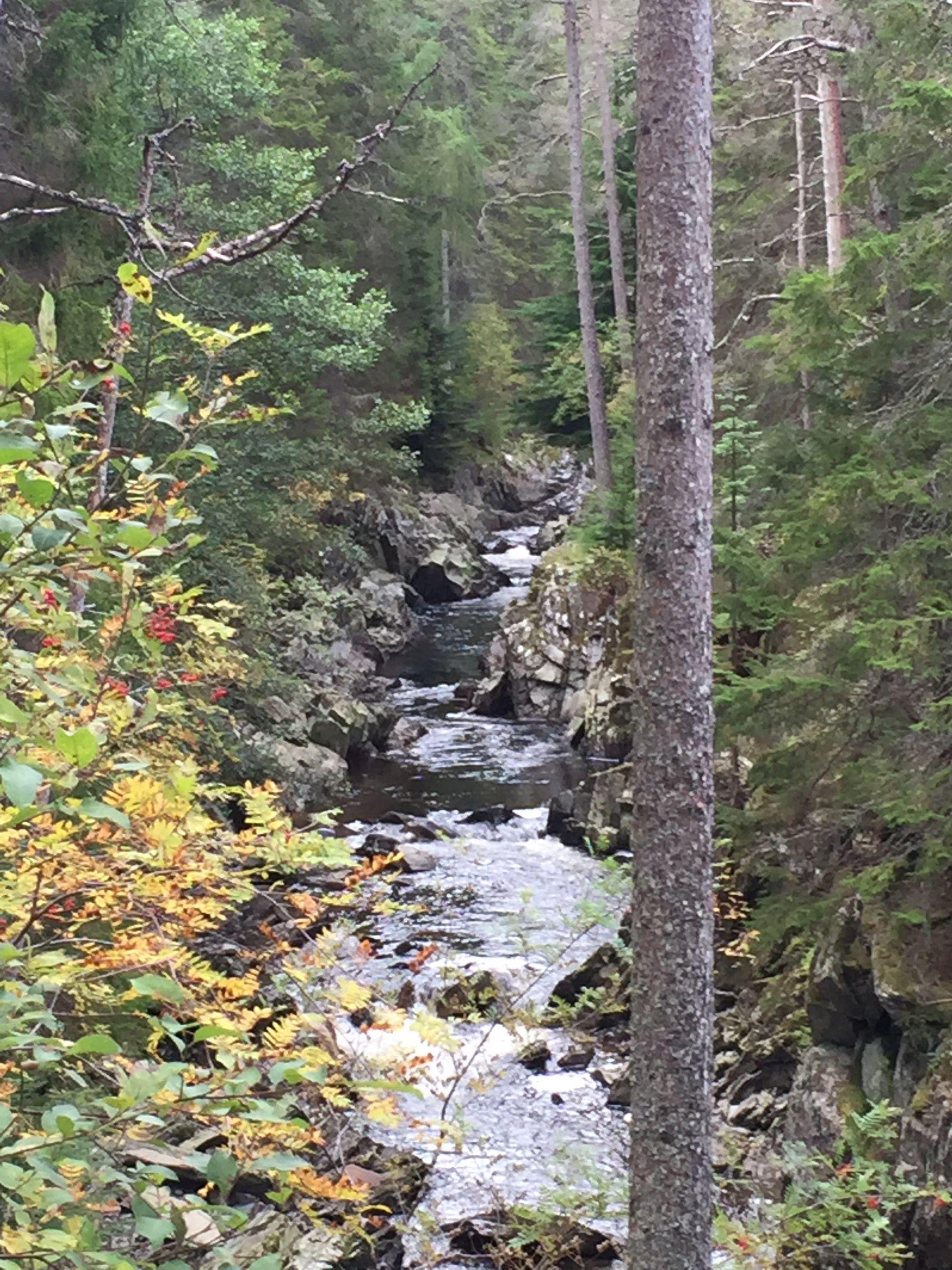 Beautiful Scottish waterfall