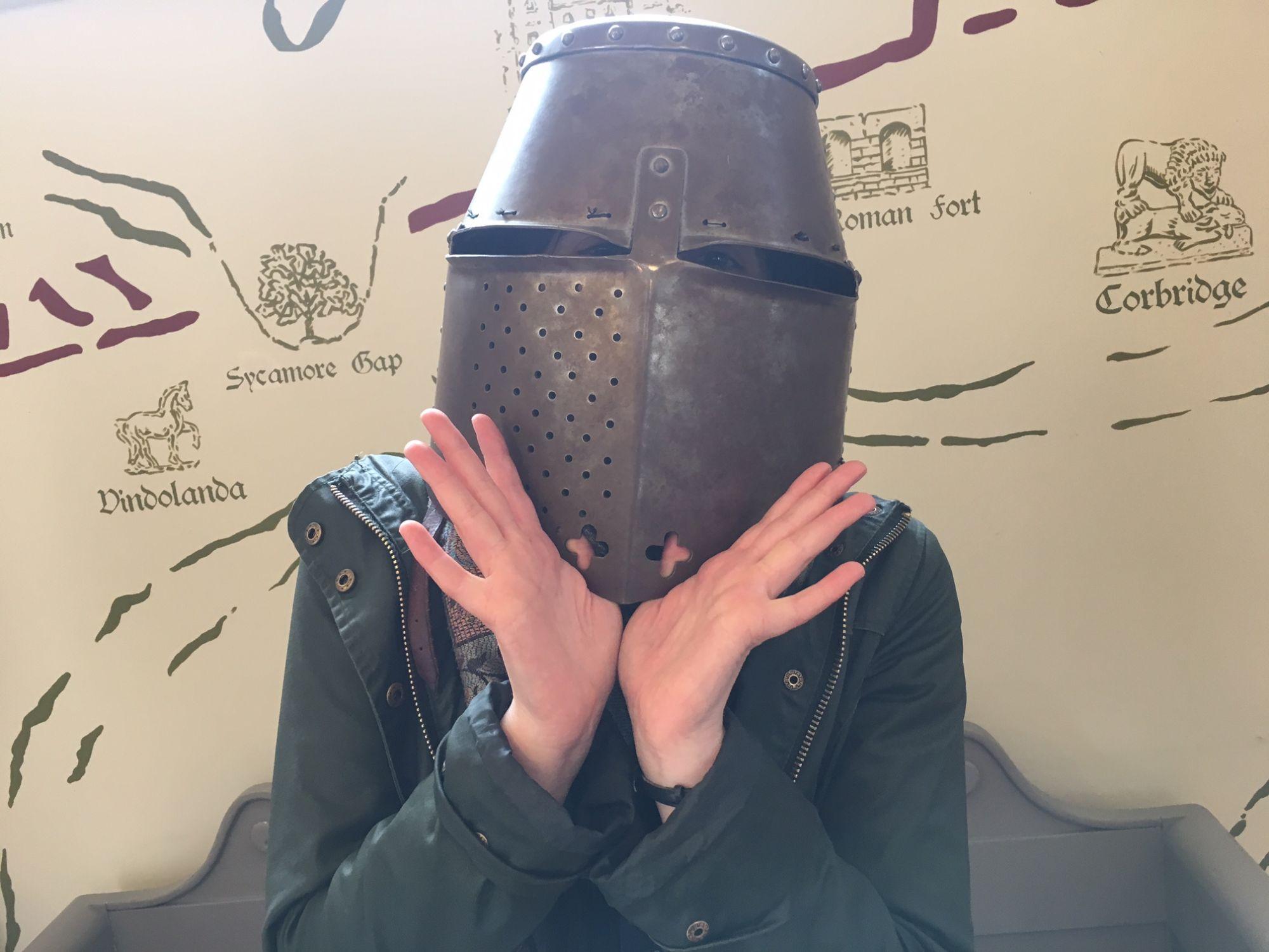 The Dork Knight (at Lanercost)