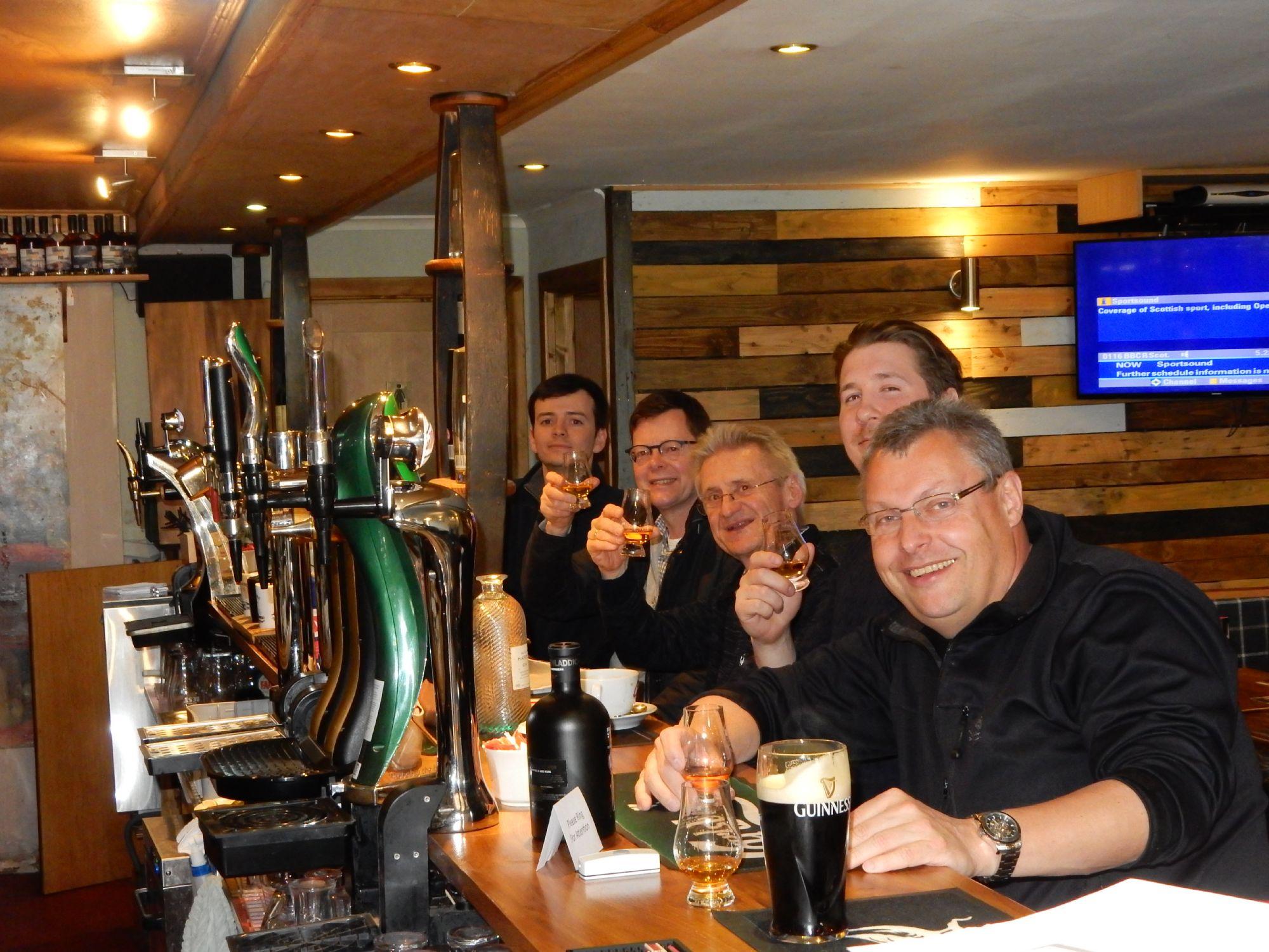 Whisky Time Ballygrant Inn