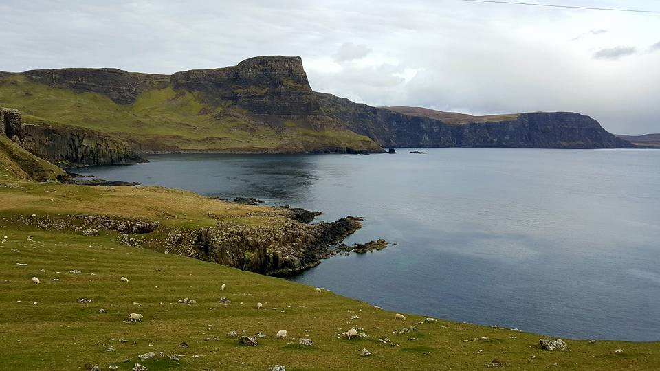 Cliff of Skye