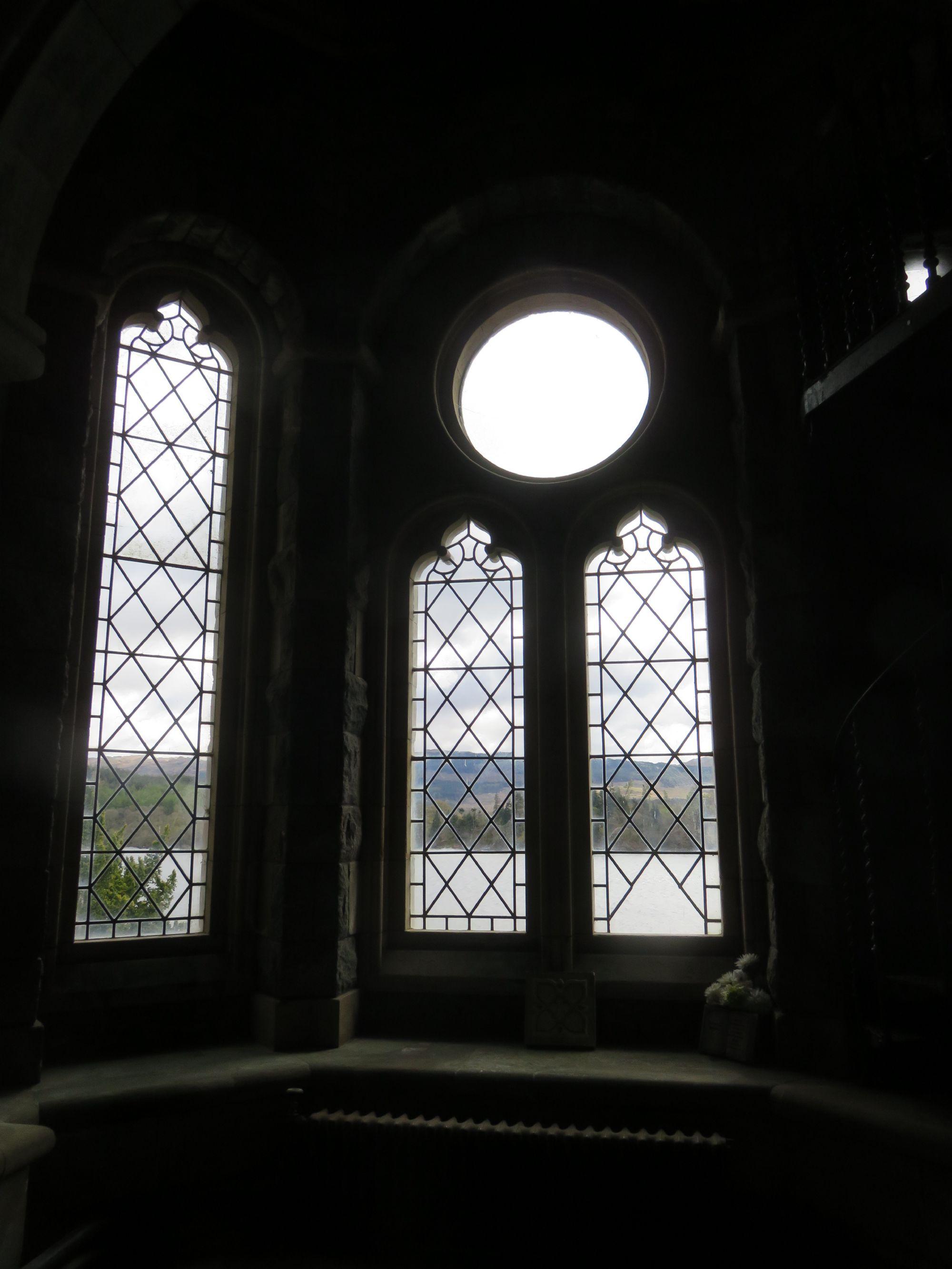 View through Kirk Windows