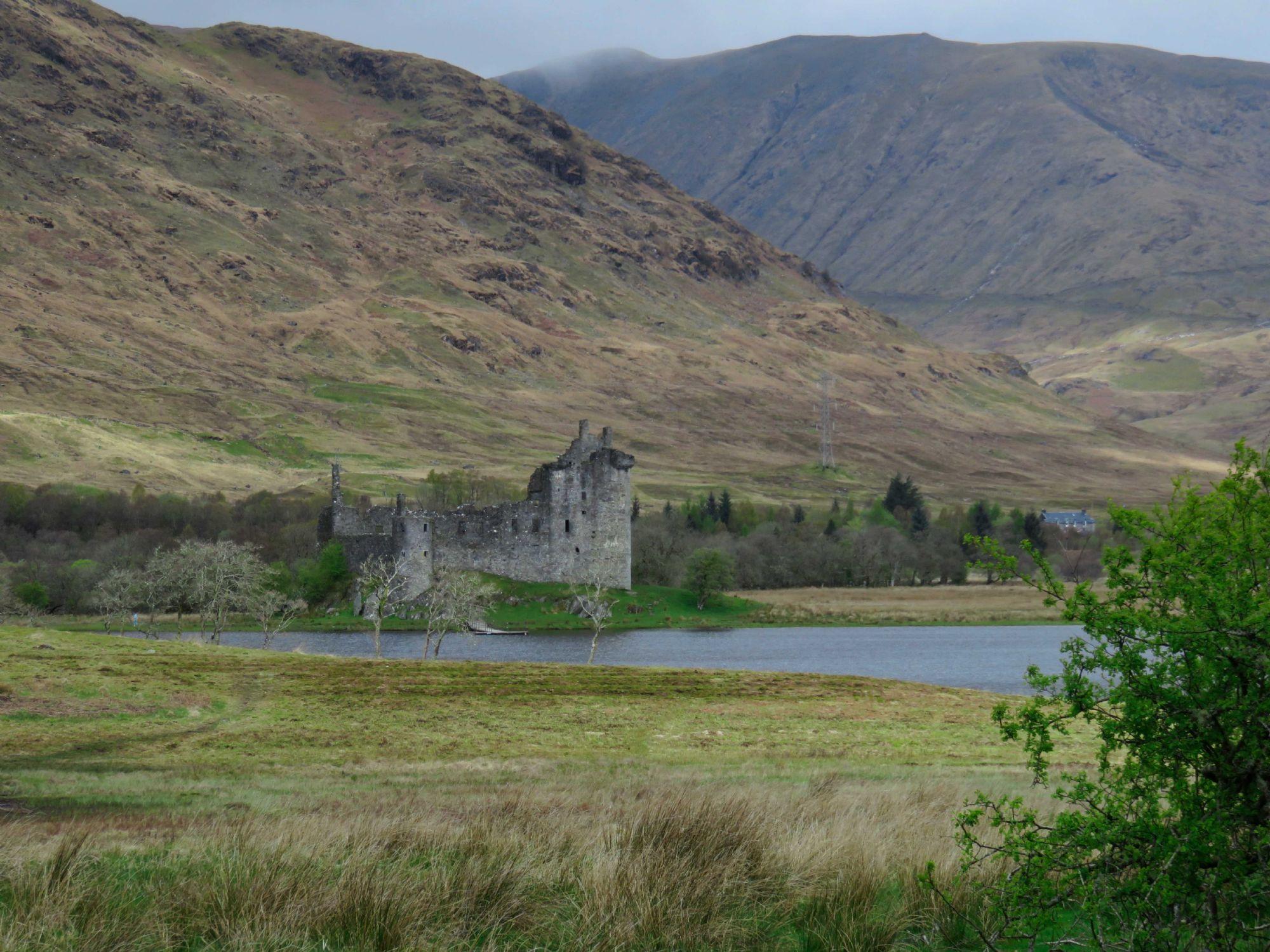 Castle with landscape