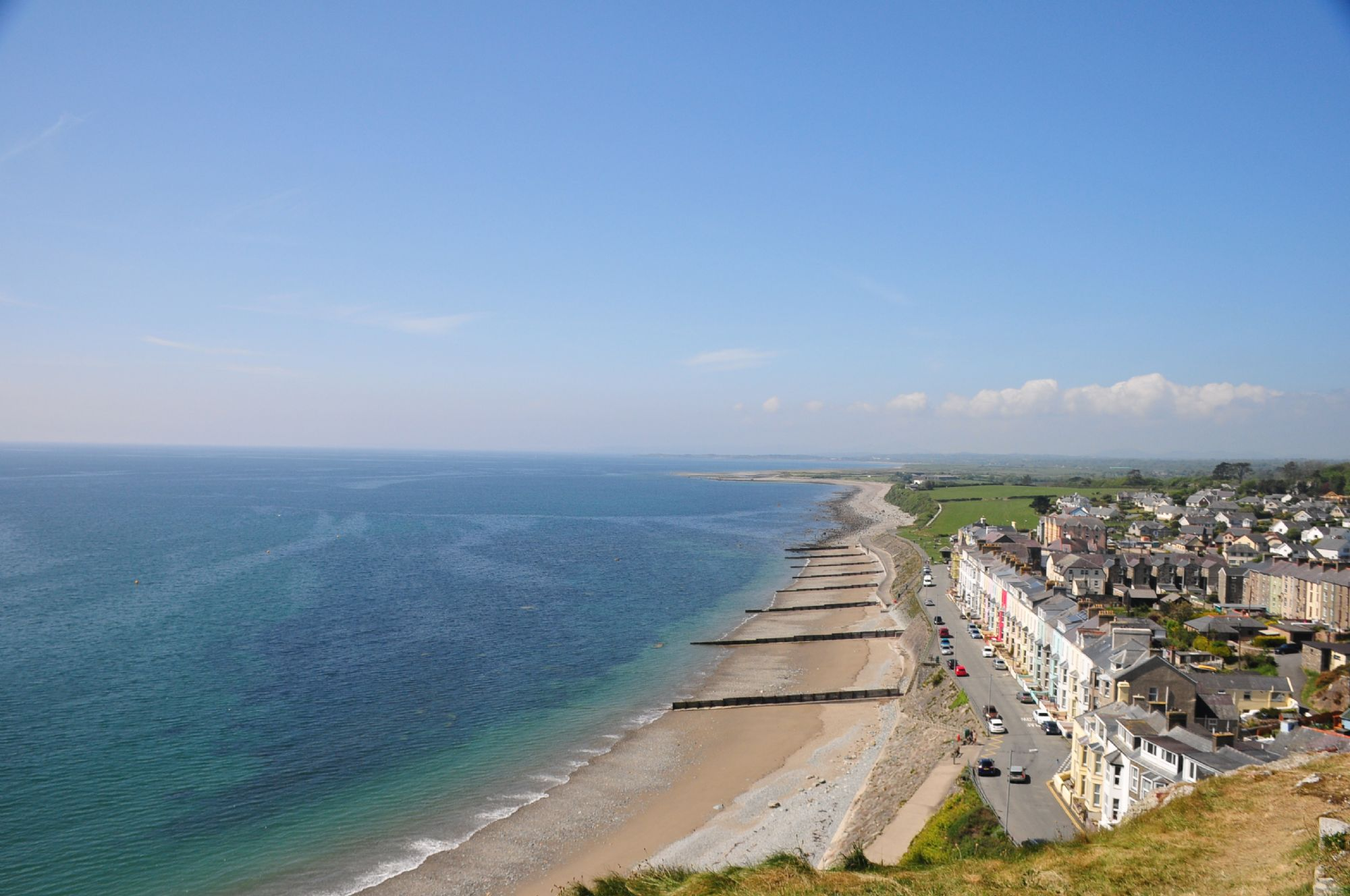 View from Cricieth Castle