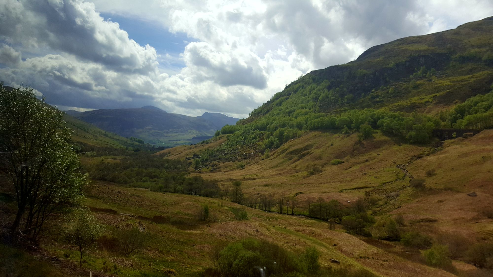 West Highlands - bus view