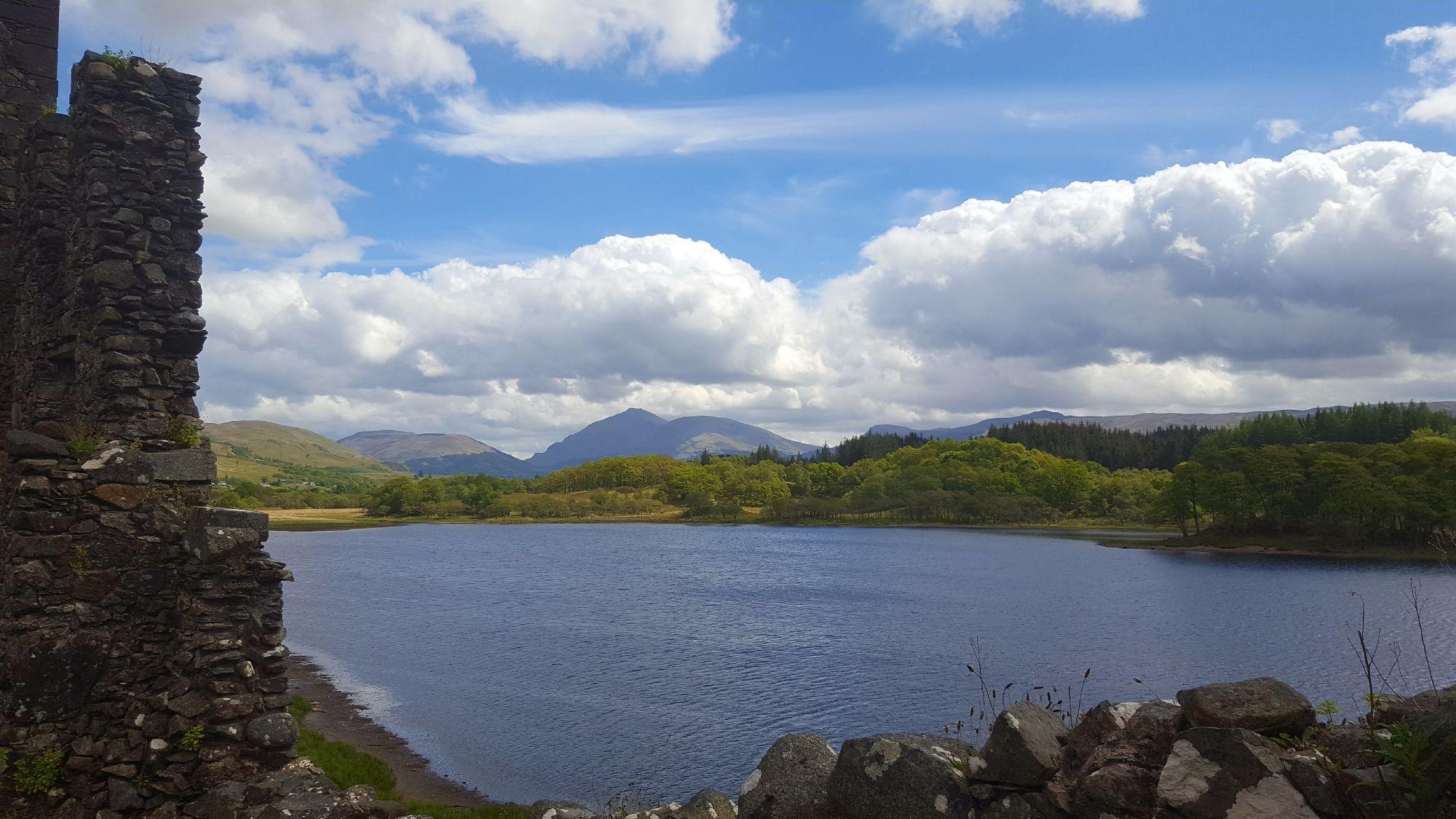 Views over Loch Awe