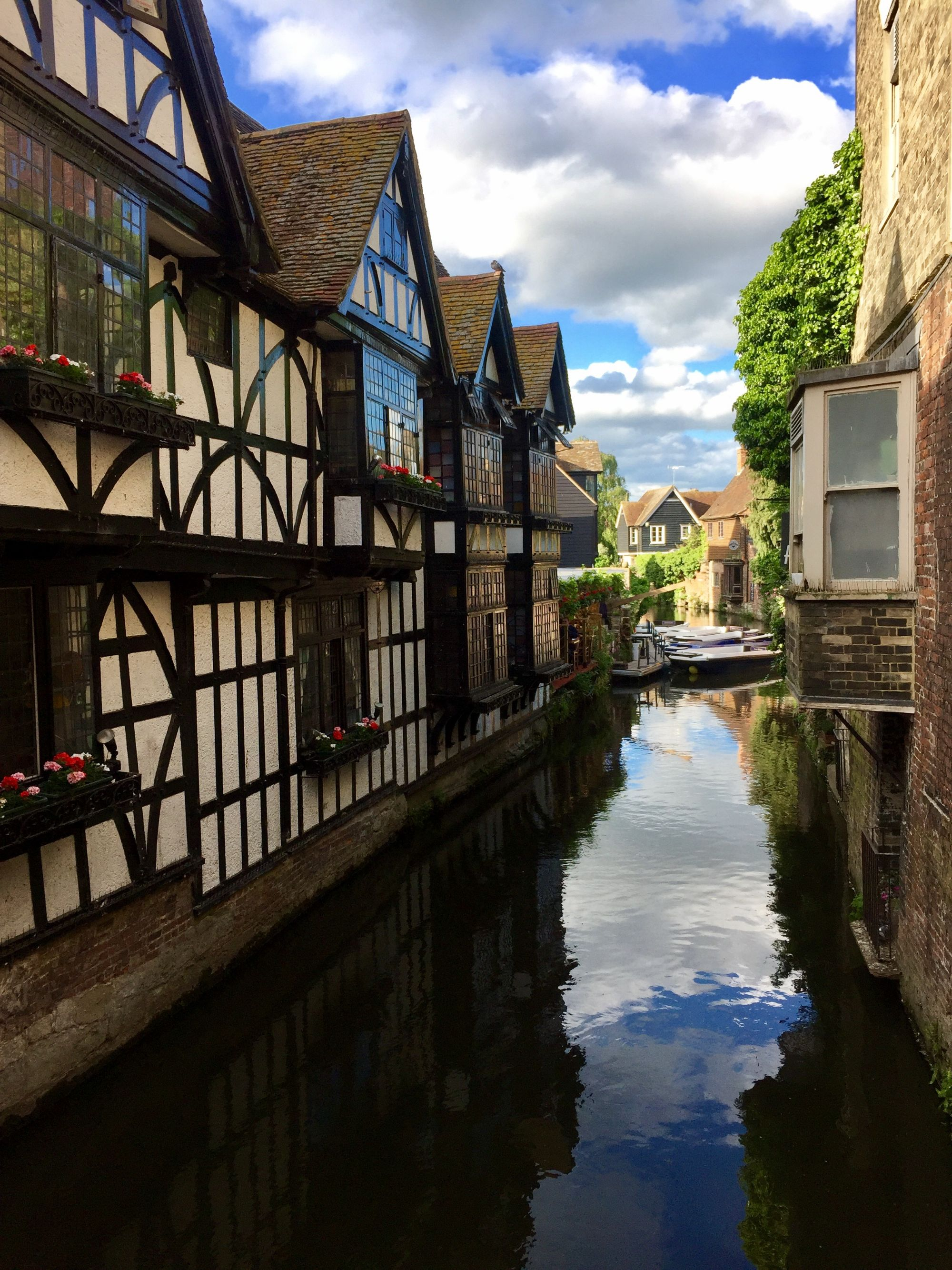 Inside the walls of Canterbury