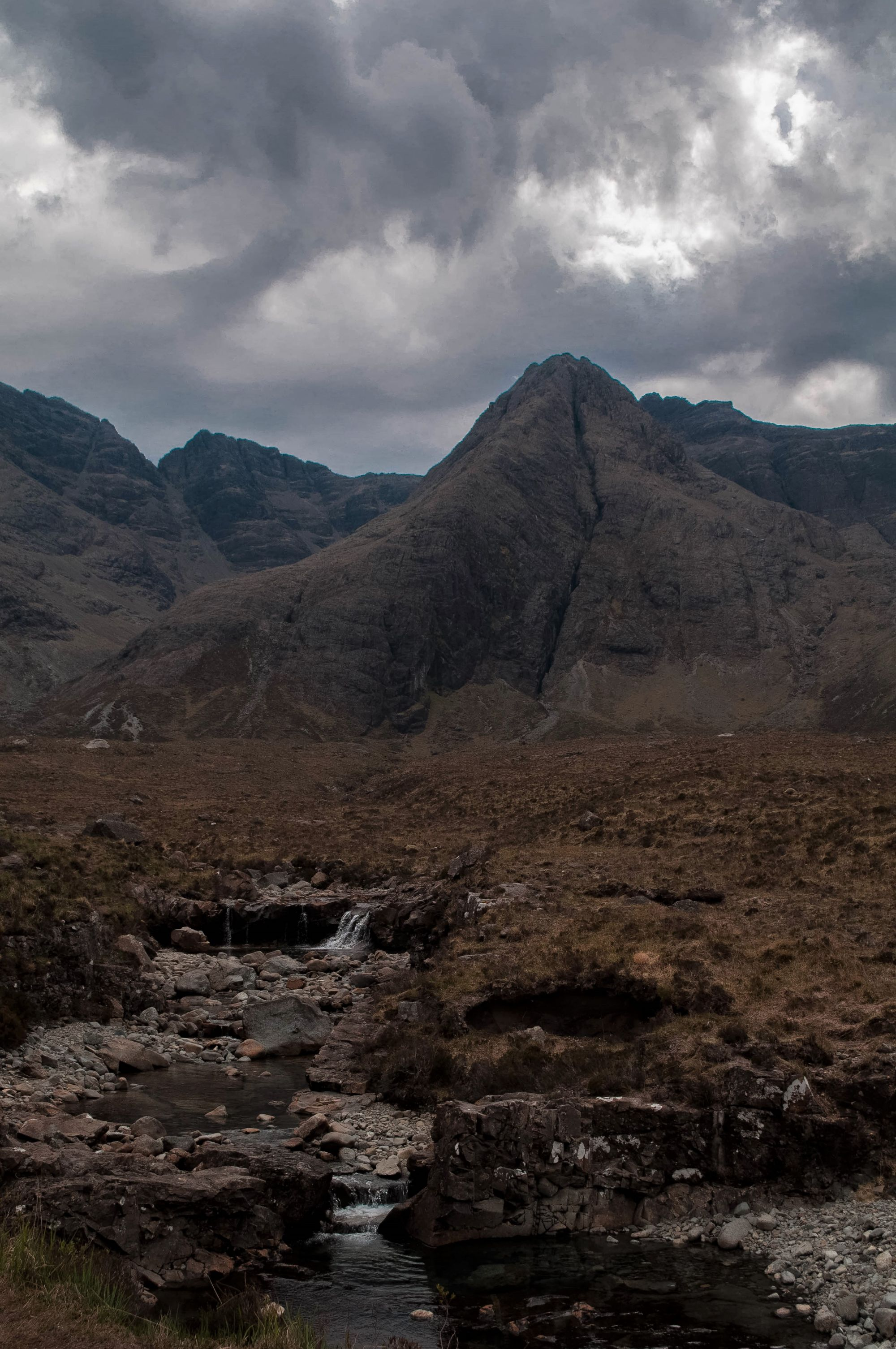 At the Fairy Pools