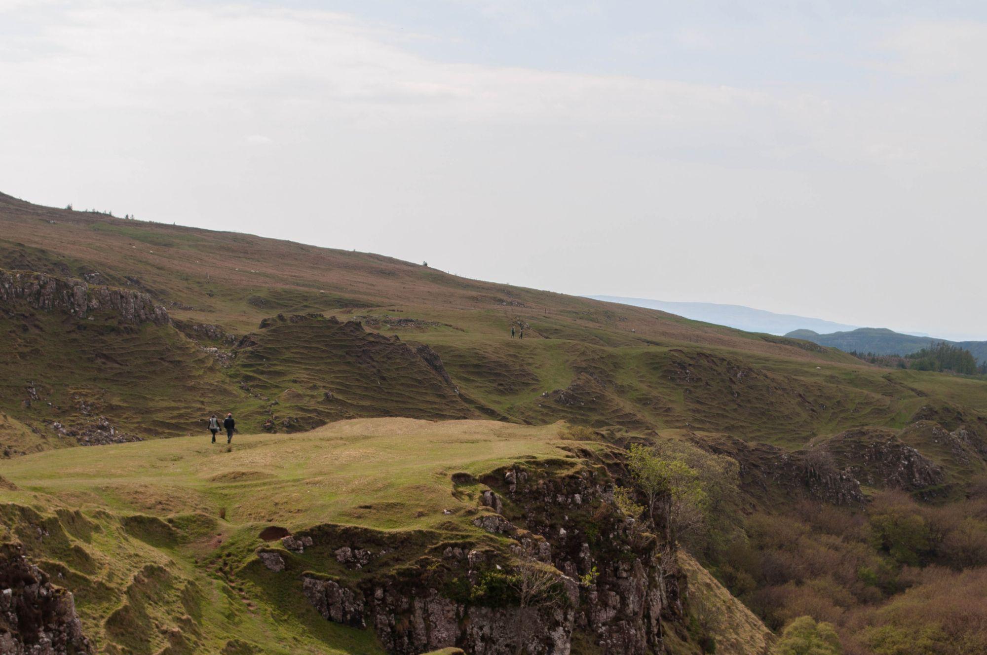 View from Castle Ewan
