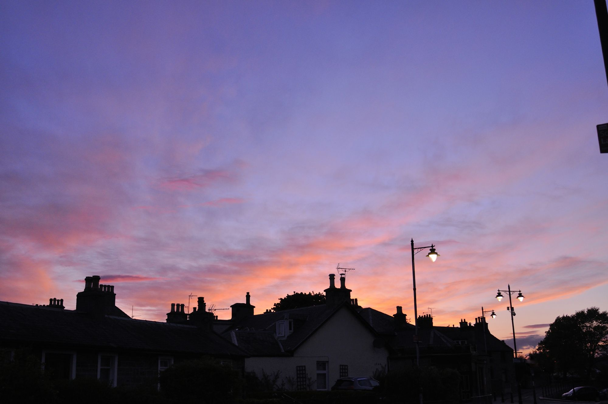 Colorful twilight at Inverness