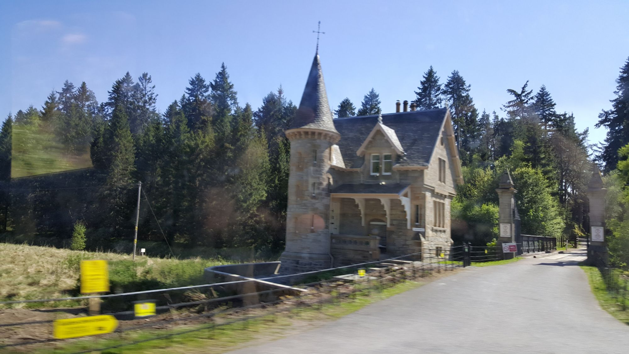 Castle on a Sunny Day