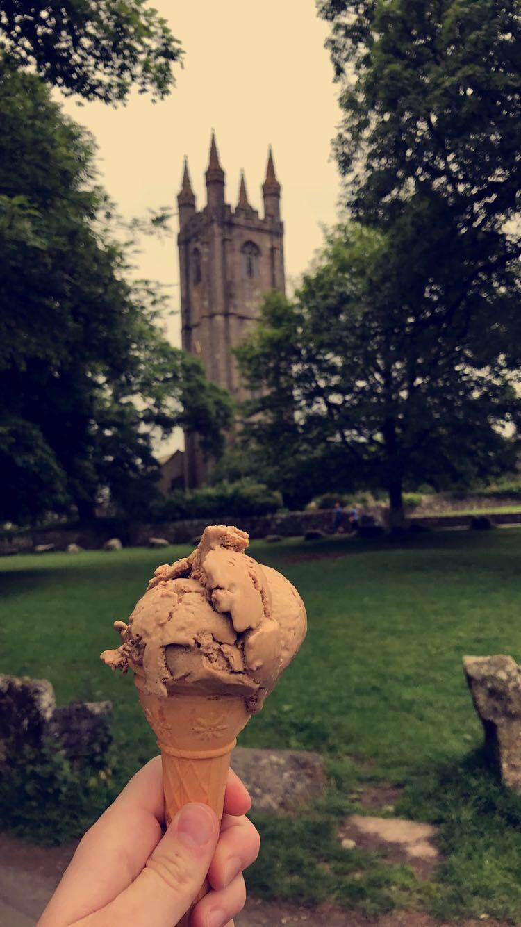Ice Cream in Widdecombe