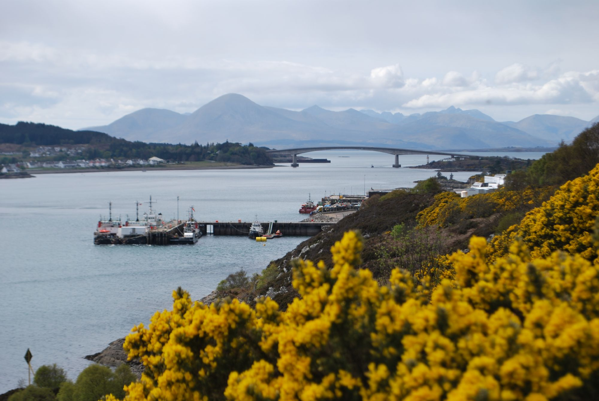 The bridge to the Isle of Sky