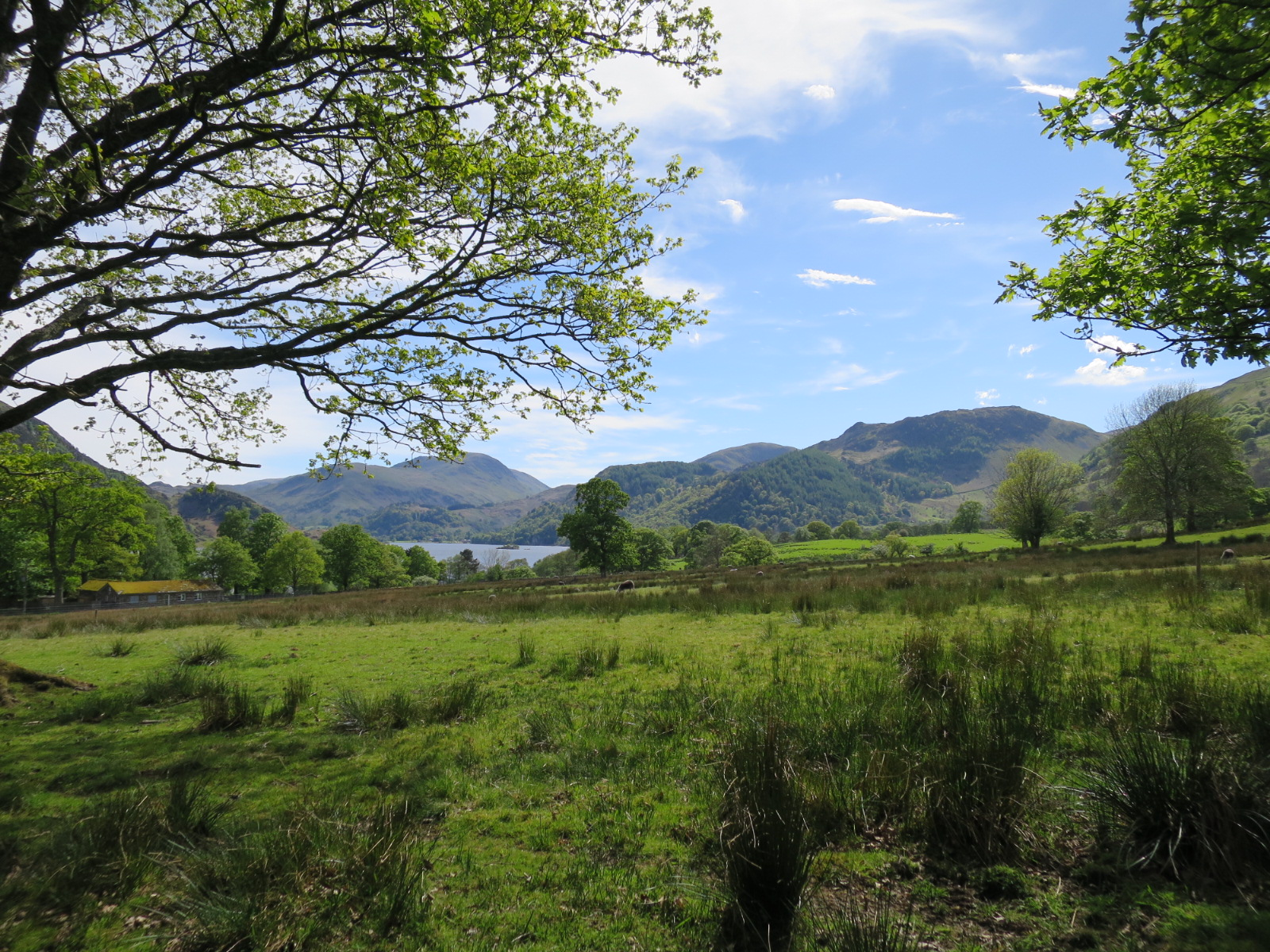 Lake district first day