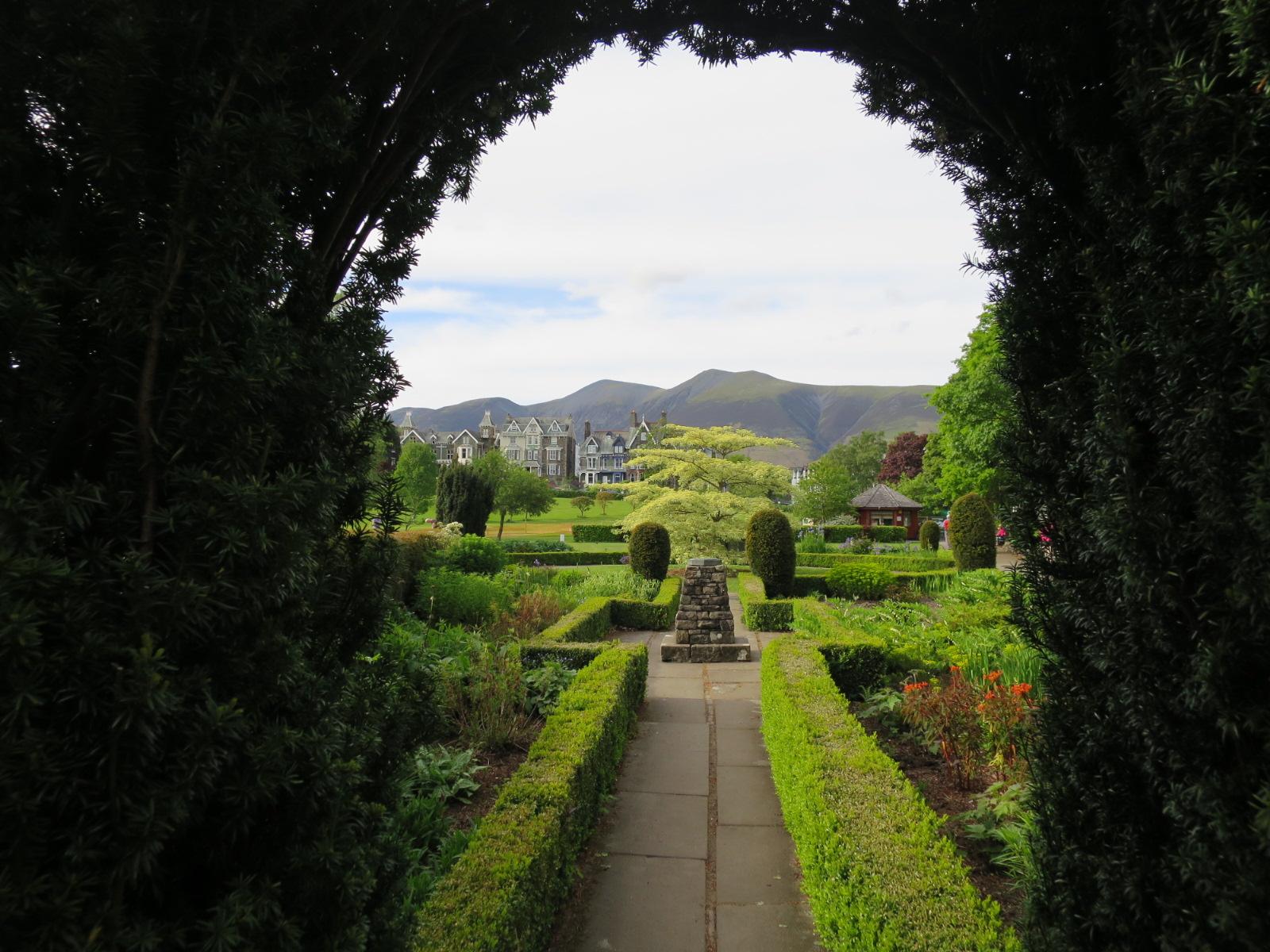 Garden in Keswick