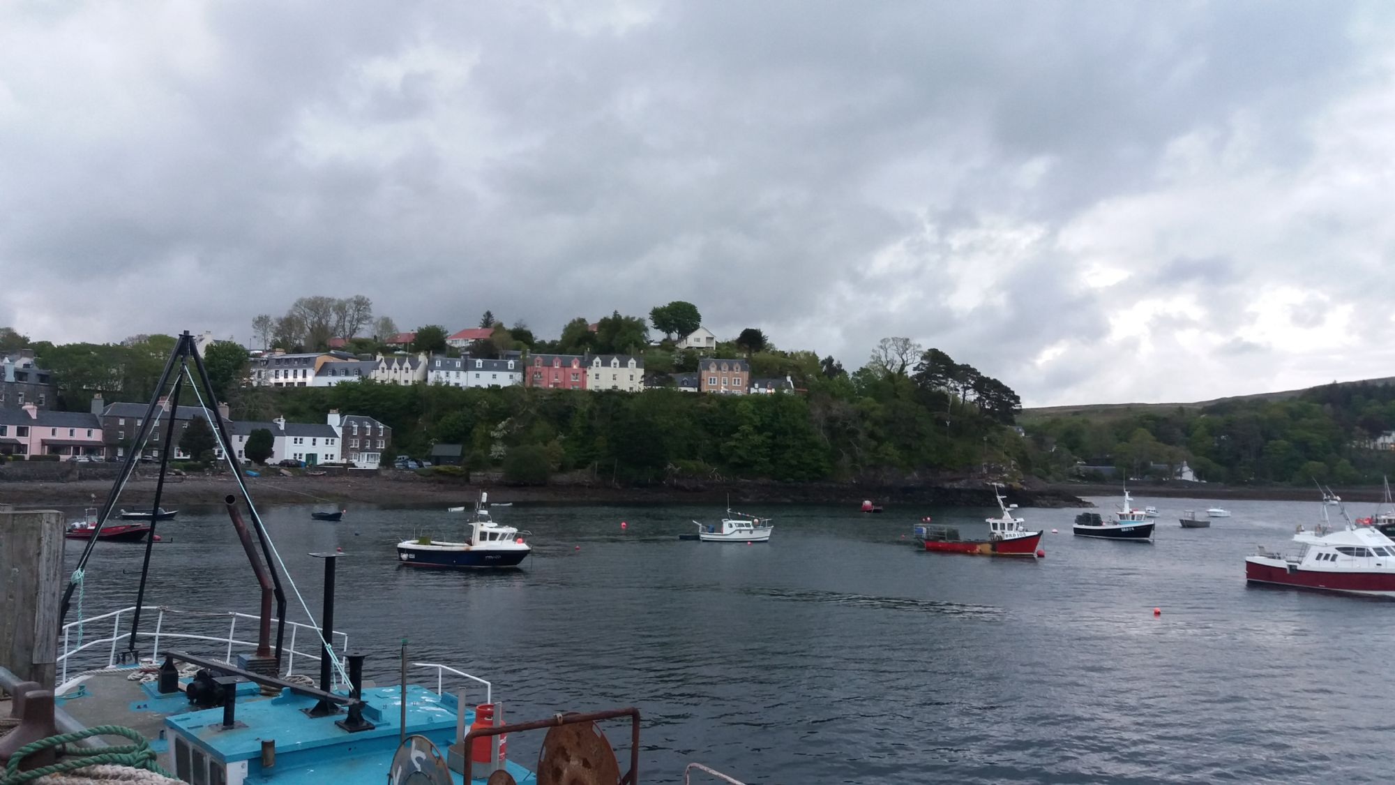 Portree from the Dock