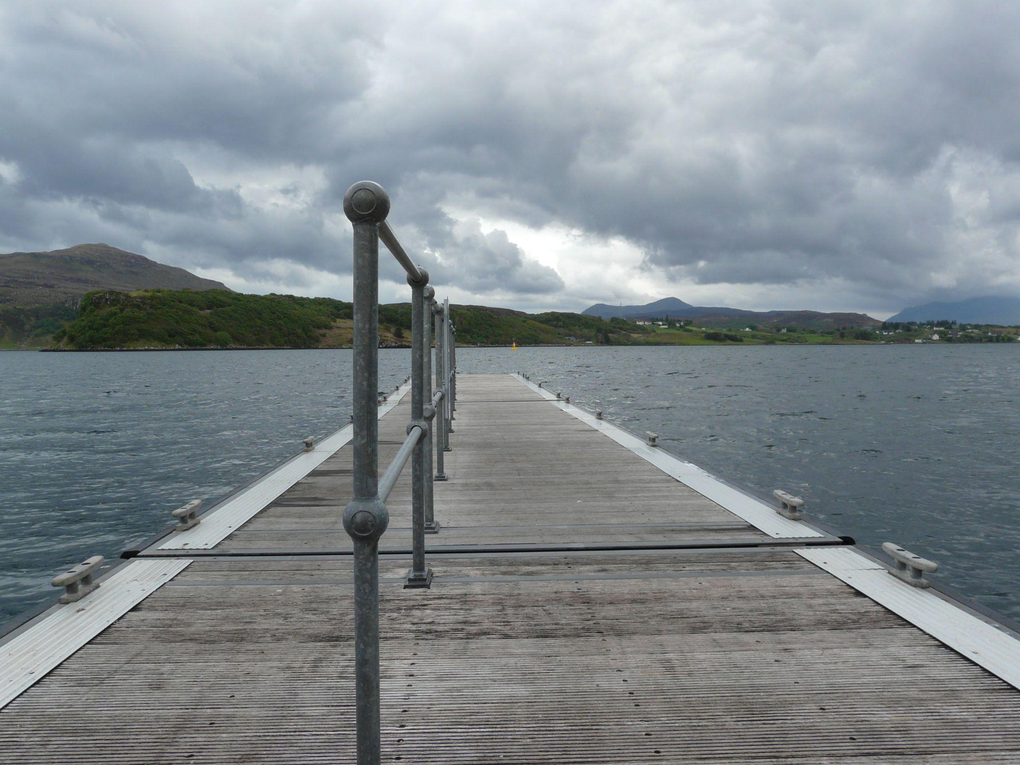 Dock in Portree