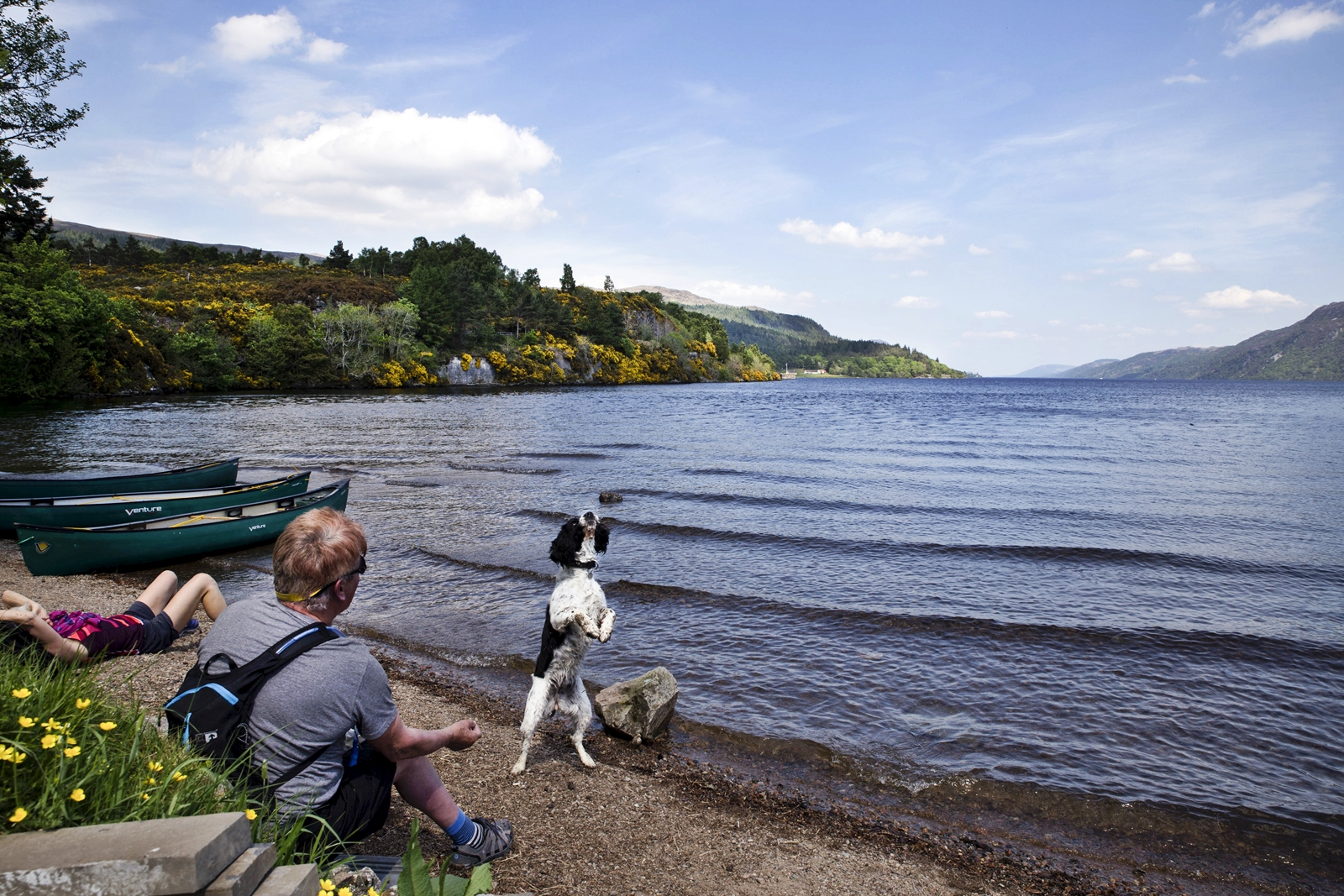 Family outing_lochness