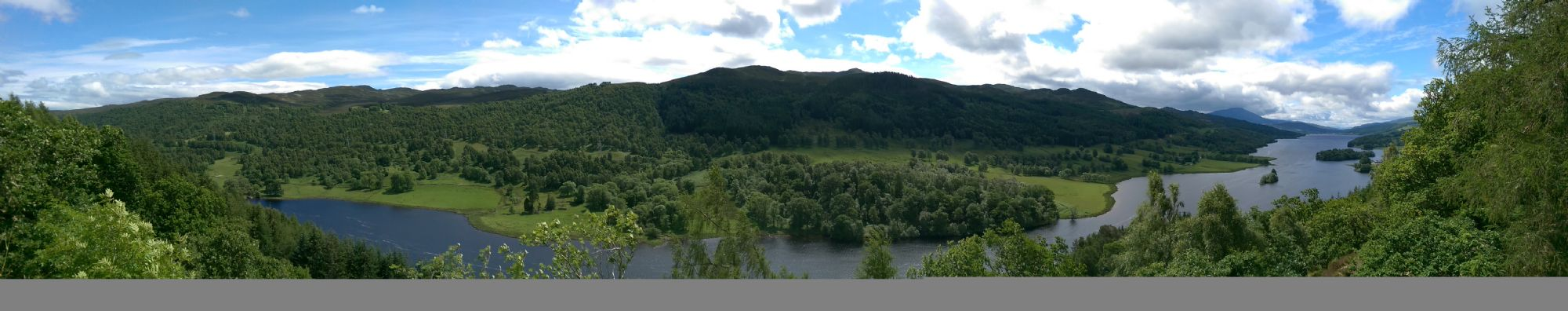 Panorama of the Queens view