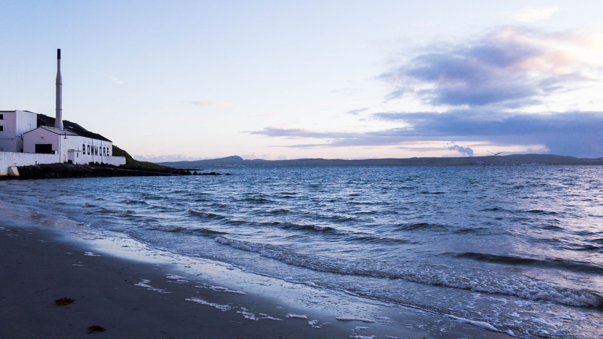 Bowmore in the evening