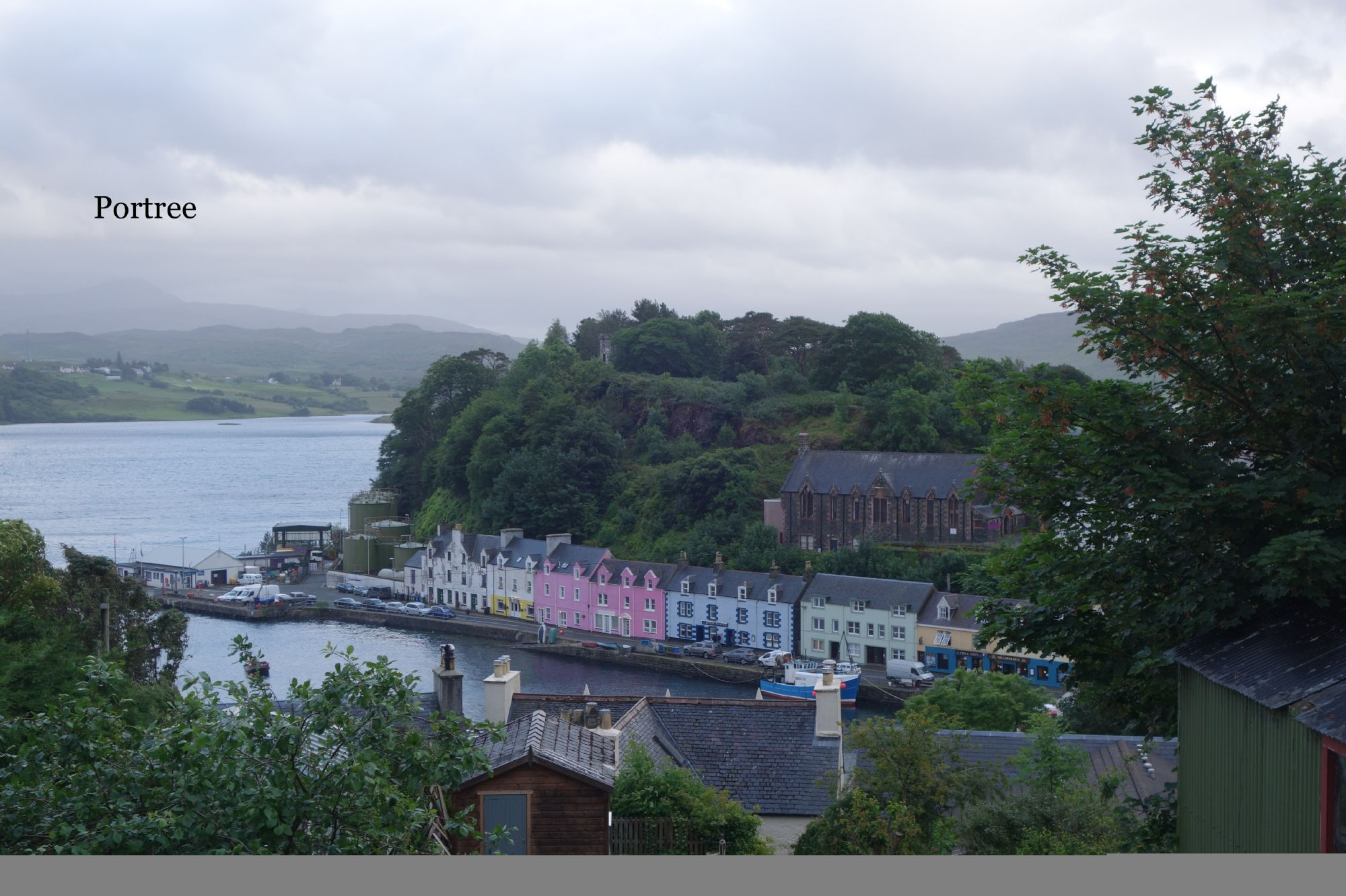 The colourful town of Portree