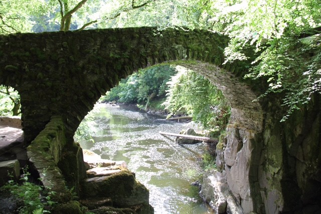 Lovely bridge at The Hermitage