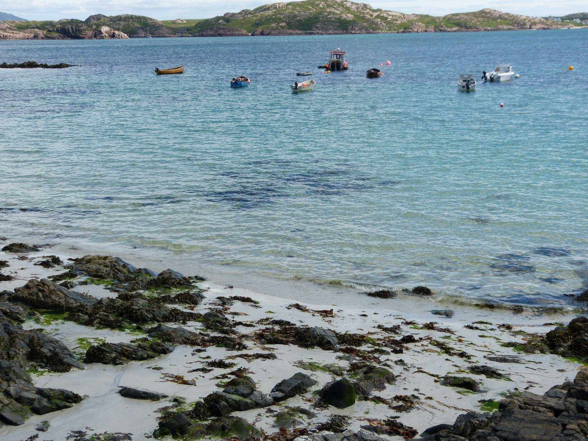 The beach on Iona