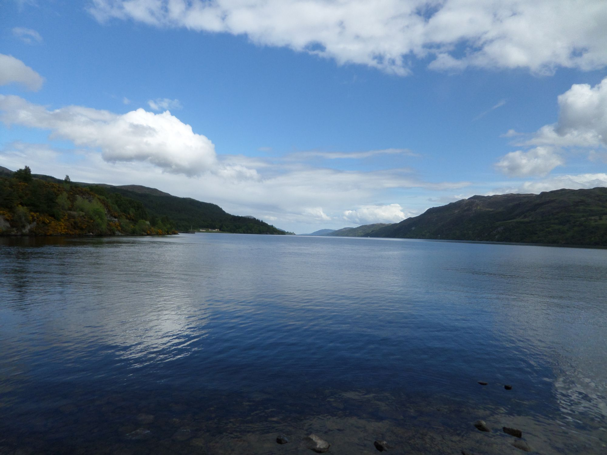 Loch Ness at Fort Augustus.