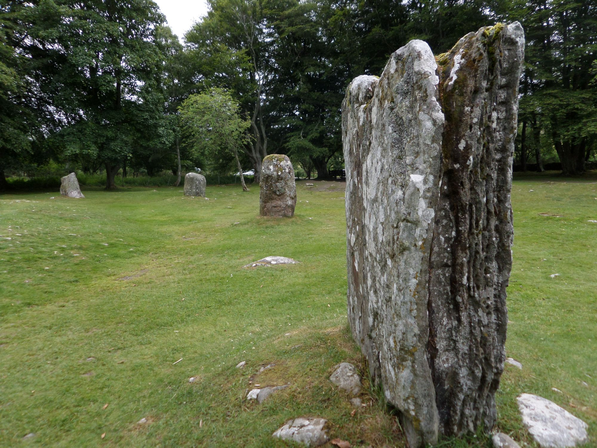 Clava Cairns, nr. Inverness.