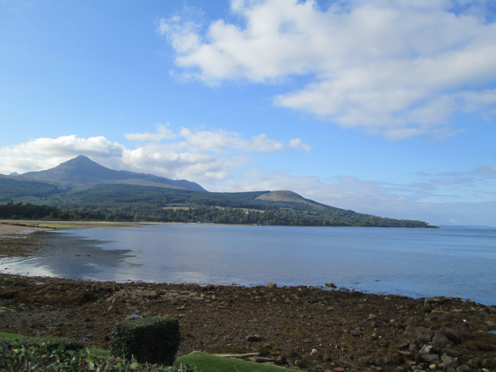 Goatfell, view from Brodick