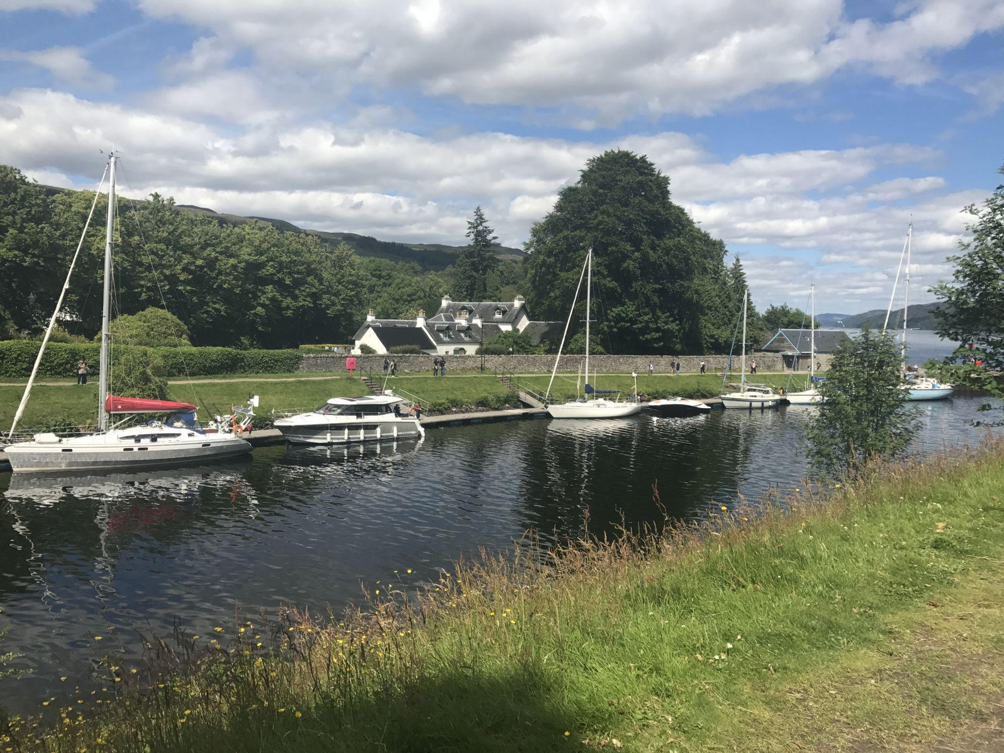 Postcard Loch Ness snap