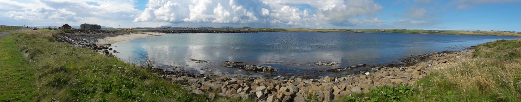 Lamb Holm overlooking mainland