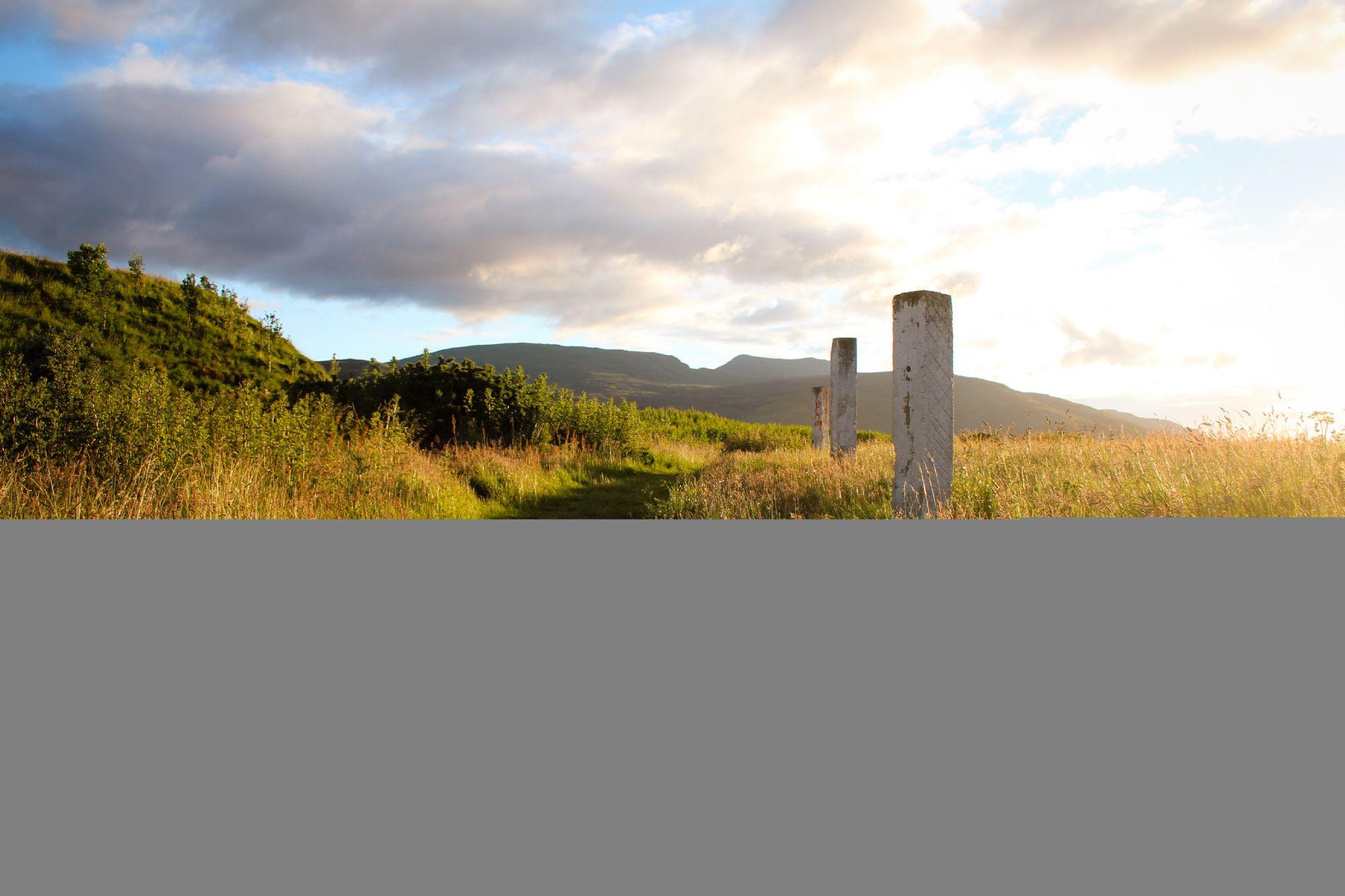 Sunset Walk in Ullapool