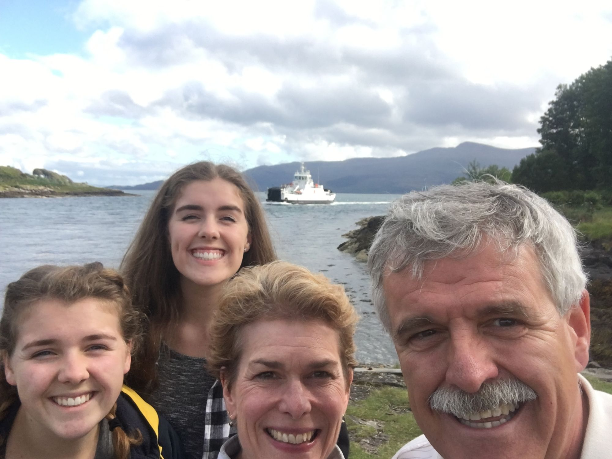 Ready for the Ferry to Mull