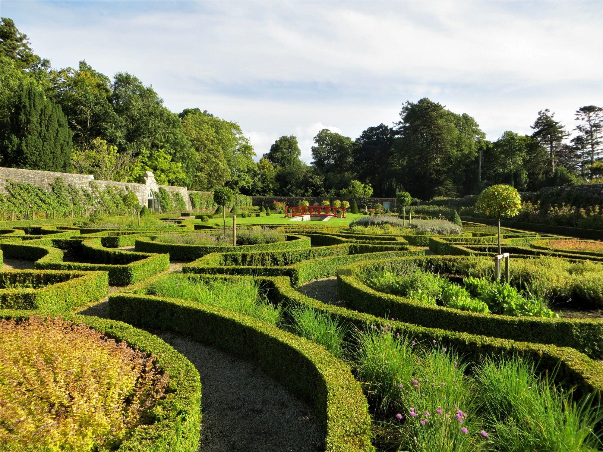 Lough Rynn Walled Garden