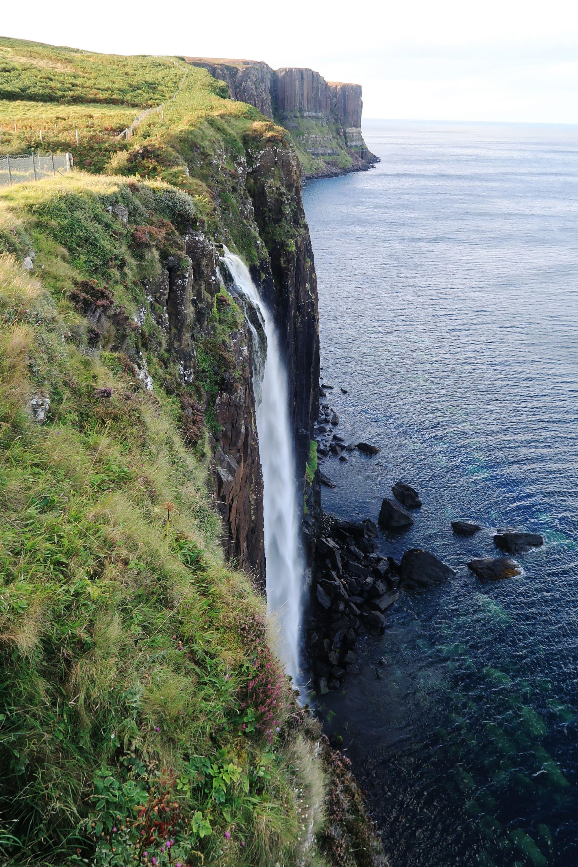 Isle of Skye - Kilt Rock