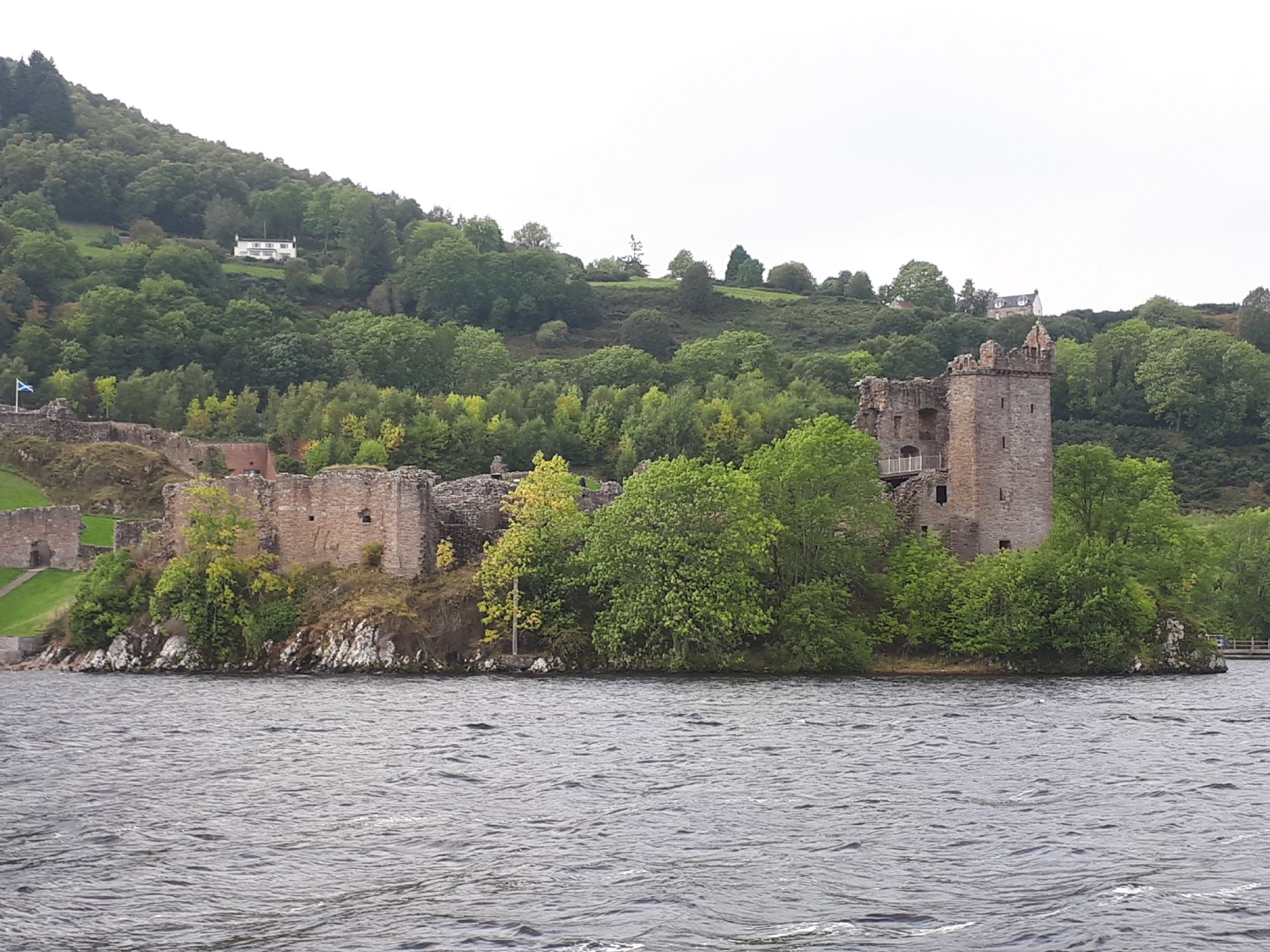 Castle from the Loch