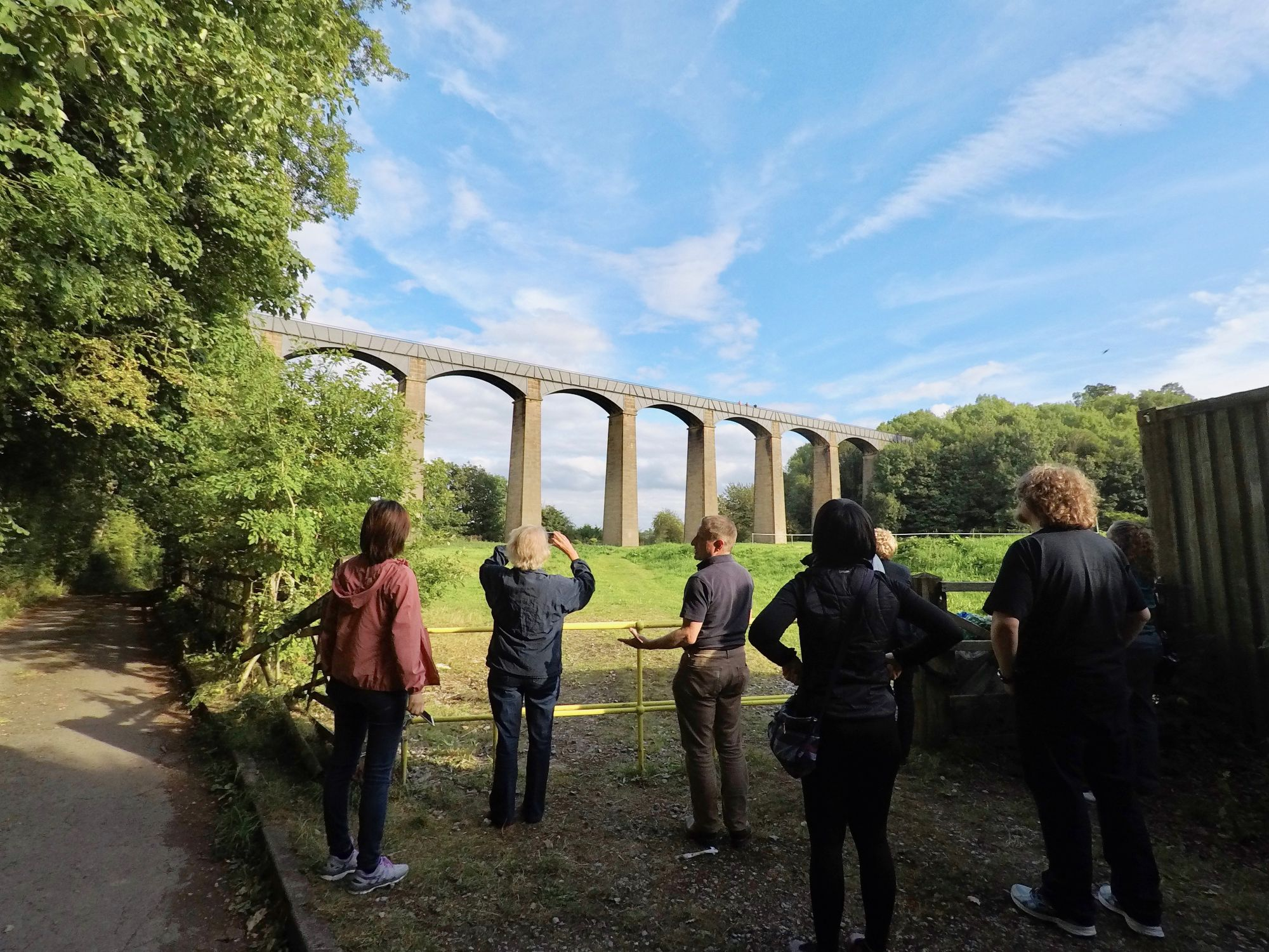 Stopping to see the Aquaduct