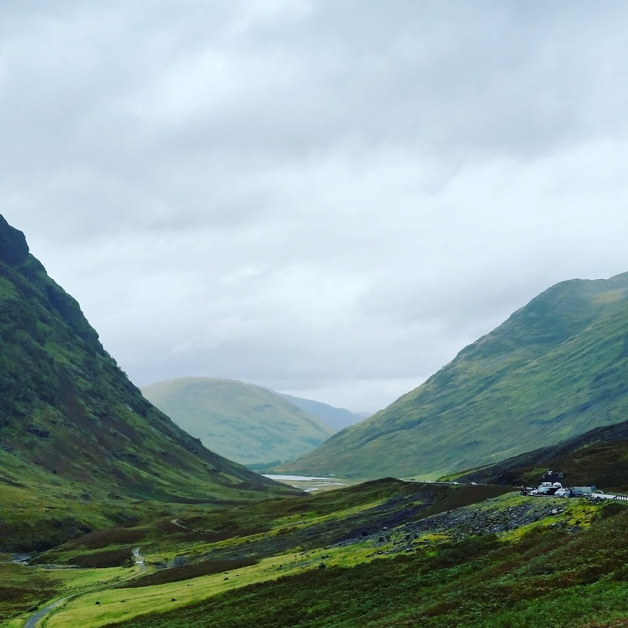 On the way to Skye