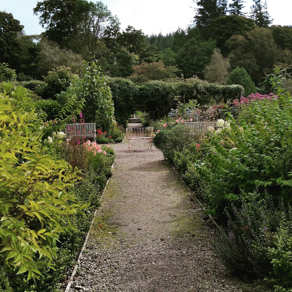 Garden at Dunvegan Catsle