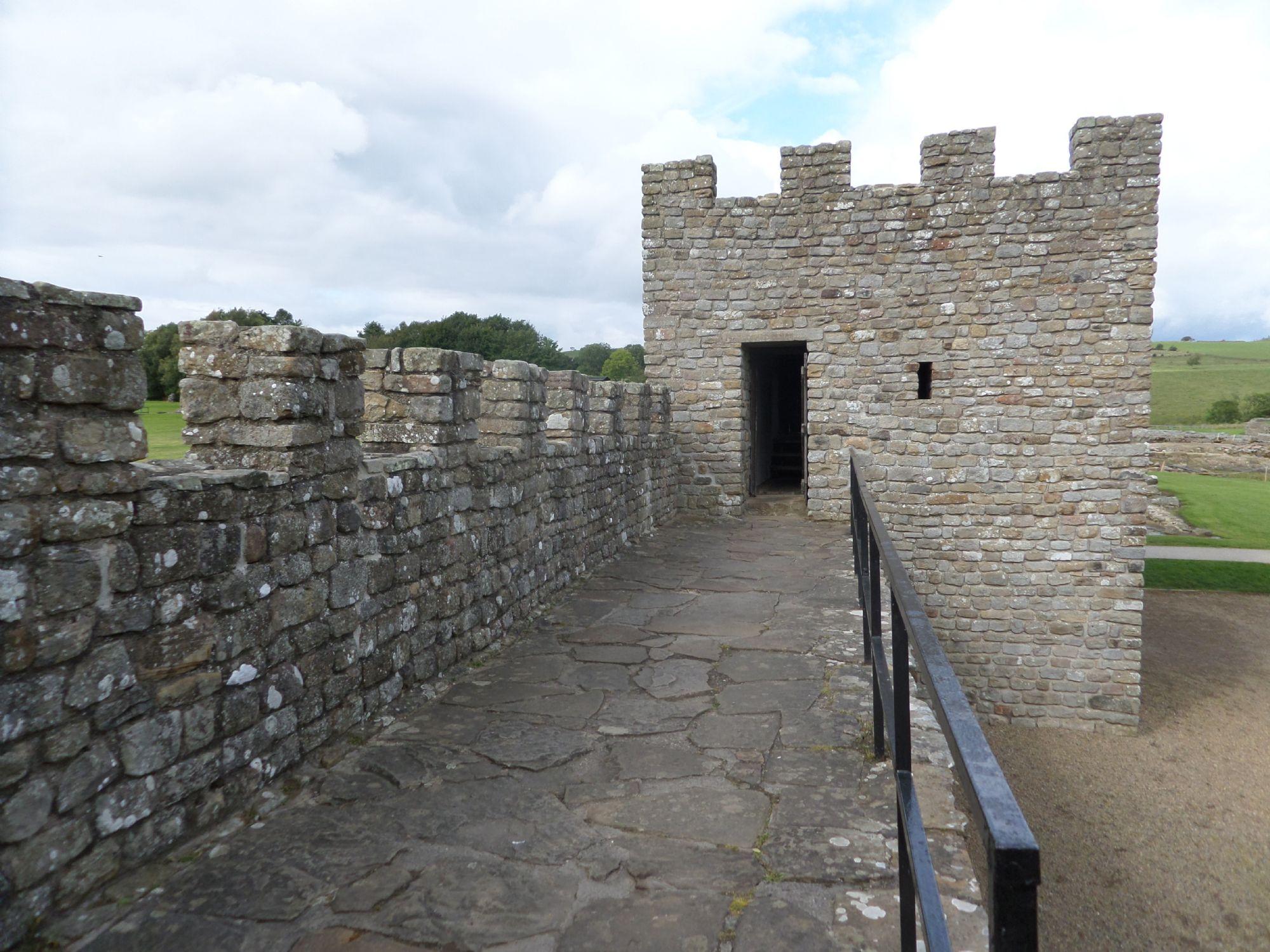 Recreation of Roman Fort