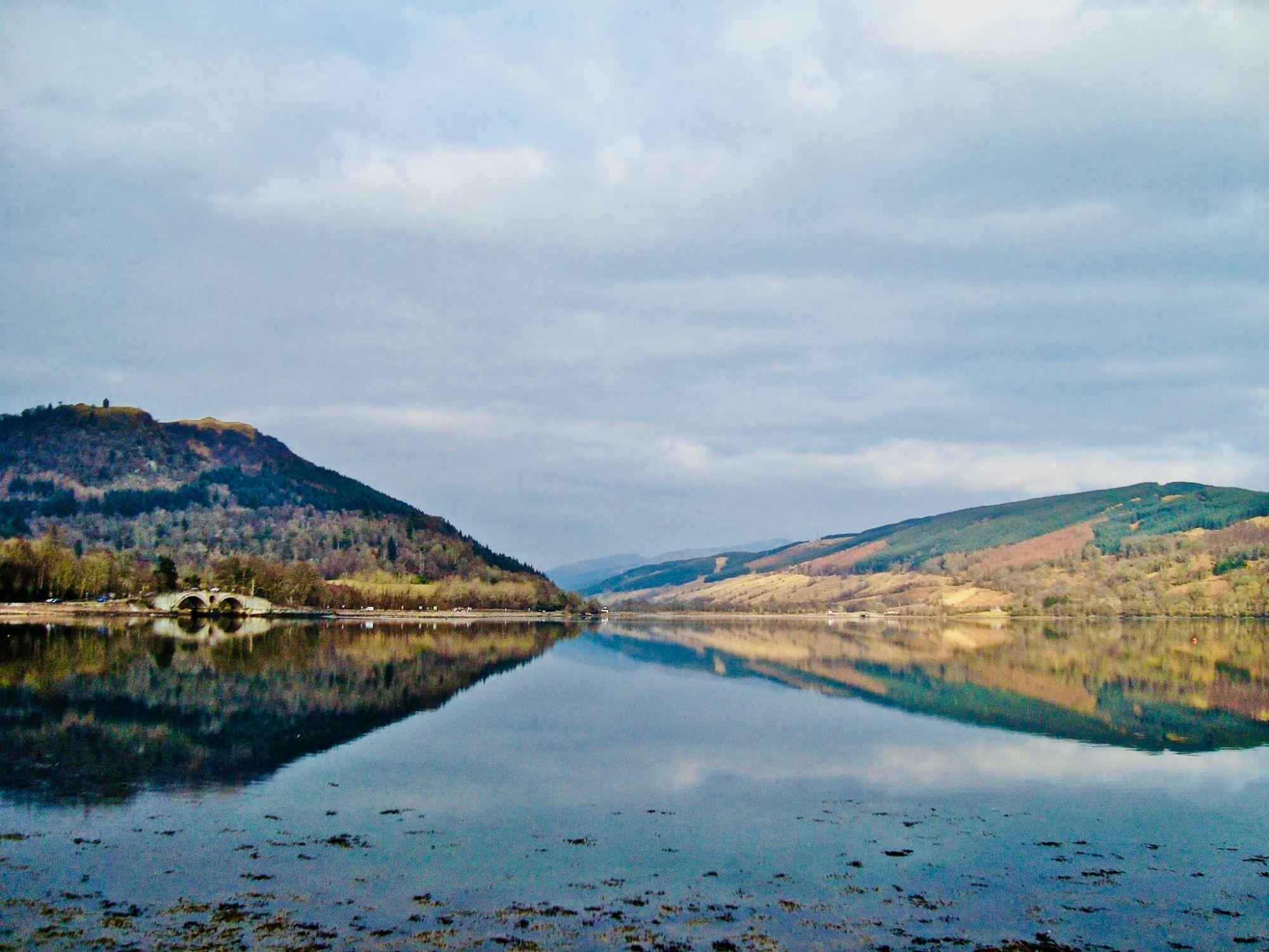 A viw of Loch Lomond.