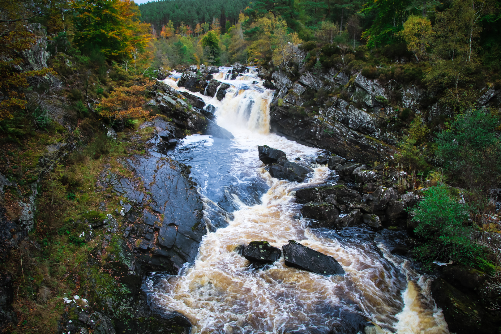 Falls near Strathpeffer