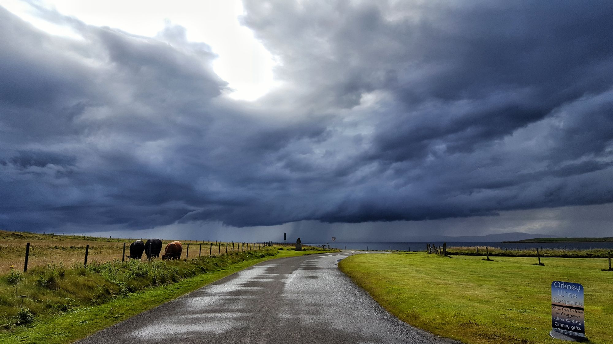 Stormclouds over Orkney