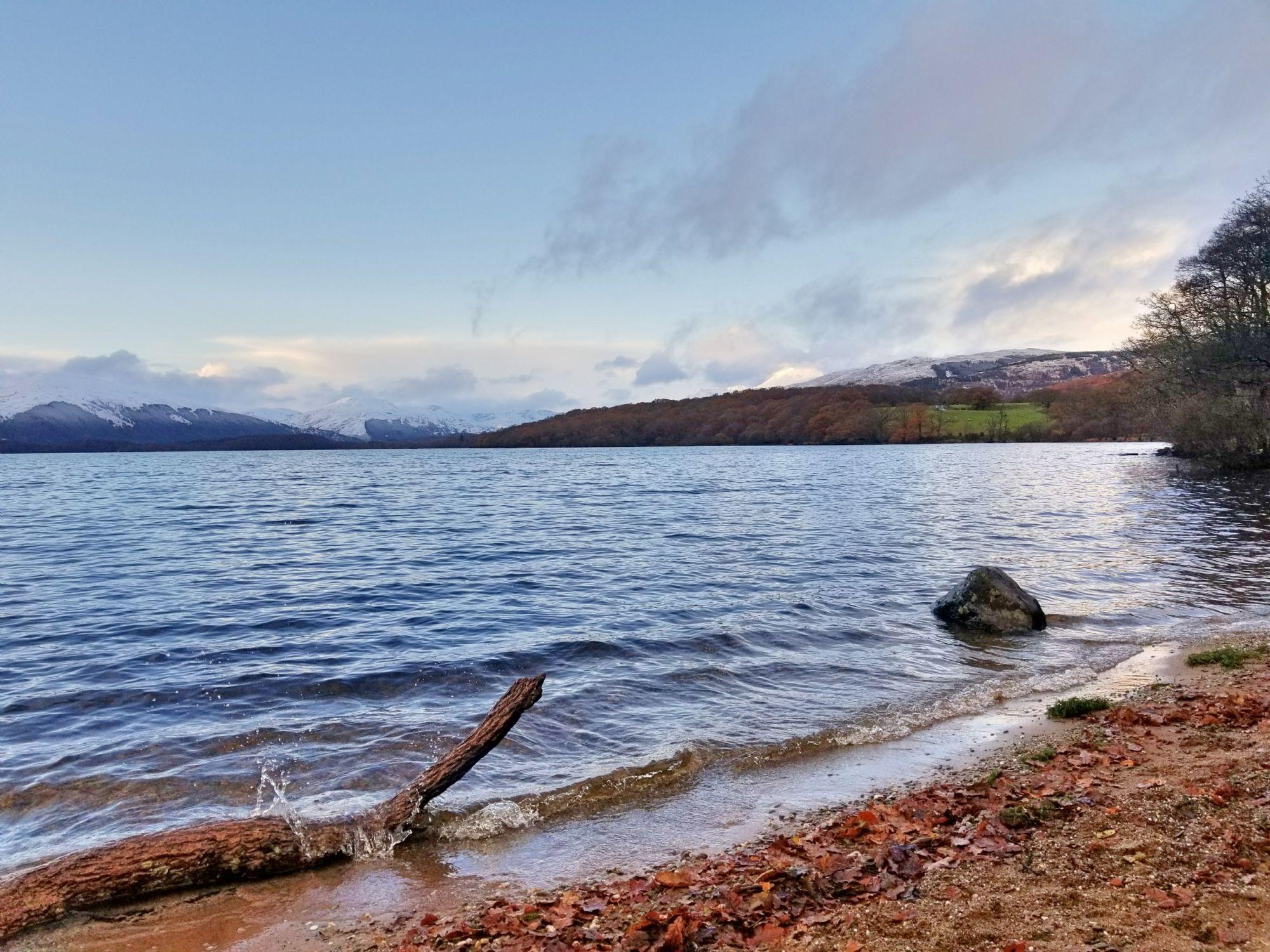 Reflecting at Loch Lomond